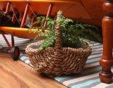 (BC-SF1013) Eco-Friendly Handmade 자연적인 밀짚 꽃 바구니