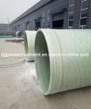 El FRP GRP Tubo de suministro de agua de fibra de vidrio.