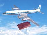 Flugzeug-Produkt-Flugzeug-Modell Douglas-DC-7