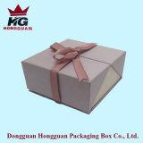 Boîte-cadeau de papier ouverte de double de qualité pour le bijou
