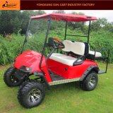 Тележка гольфа звероловства 4 Seater электрическая (задние места flip)