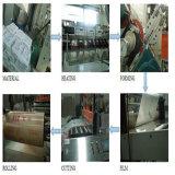 Folha contínua geada do policarbonato de China garantia Ten-Year para a telhadura