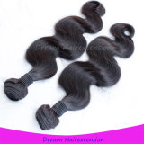 ボディ波の人間の毛髪の拡張加工されていない卸し売りバージンのマレーシア人の毛