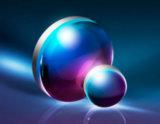 Lentes ópticas de dupla convexidade revestidas com grau UV de sílica fundida UV