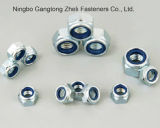 Noix de haute résistance de nylon de garniture intérieure du blocage DIN985