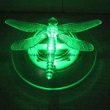 Lampe de flottement solaire de guindineau extérieur de libellule