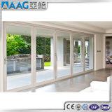 Portello scorrevole di profilo di alluminio per il balcone