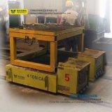 Equipo de manipulación de materiales resistente accionado del transportador de la transferencia del carrete de cable