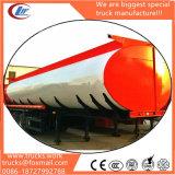 La estructura de la prueba de fugas en el hombre de acero de 2 agujeros de Shell 3 Depósito de petróleo del eje Trailer