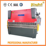 Freio hidráulico da imprensa da placa do CNC de Wc67k, máquina de dobra de aço do metal