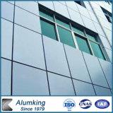 El panel compuesto de aluminio al aire libre y de interior de la fachada
