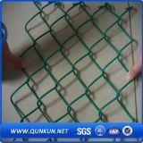 Het pE-met een laag bedekte Netwerk van de Draad voor Tennisbaan, de Omheining van de Link van de Ketting