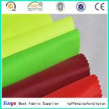 Têxtil impermeável 600d PU1000mm Tecido sólido para toldo / toldo / tendas