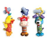 Baby Rattle Tinkle Pendentif Bell Multifonctionnel Peluches poussette Jouets
