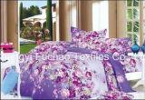 Literie de la plaine de poly/coton Set/Collections de l'hôtel Le linge de lit