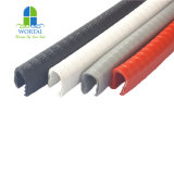 PVC les protections de rebord de garniture de porte de voiture le joint de PVC avec bande d'étanchéité métallique en acier