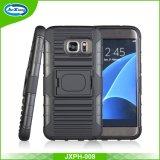 Prezzo di fabbrica per il caso Shockproof del coperchio di Kickstand di ultima alta qualità per Samsung S7e