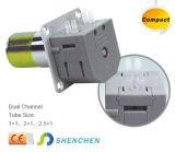 OEM에 의하여 주문을 받아서 만들어지는 0.024-190ml/Min Minipump 연동 펌프