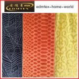 Tessuto 100% di tessile impresso del poliestere del velluto (EDM5113)
