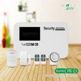 Sistema di allarme senza fili e collegato gestito APP di obbligazione domestica di GSM