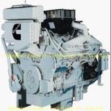 De Dieselmotor Bhp van Cummins Kt38-M600 voor Mariene HoofdMotor en Aandrijving