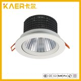 de l'ÉPI 5inch lumière vers le bas, 24W lumière d'endroit de l'ÉPI incluse par plafond réglable DEL