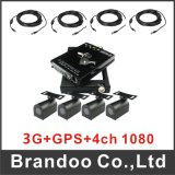 4CH Car Bus Taxi DVR 1080P HD Mobile DVR Support GPS 3G 4G SIM Card