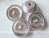 Aluminium-/Edelstahl-Kälte, die Teile für Präzisions-Schrapnell-Schutzkappe/Unterlegscheibe stempelt