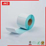 Escritura de la etiqueta adhesiva del papel de Kraft