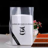 Transperant encargo LDPE bolsa de envasado de alimentos