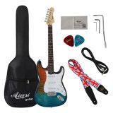 판매를 위한 기타 단단한 상자를 가진 St 일렉트릭 기타