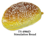 Funny Squeeze juguete de simulación de pan