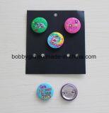 Insignia linda del botón personalizado Emblema de estaño para regalos publicitarios