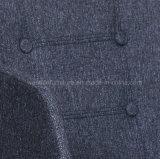 De stevige Houten Stof van Benen knoopte Achter het Dineren Stoel (W13871-2B) dicht