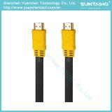 Het vlakke Mannetje van de Hoge snelheid aan Mannelijke Kabel HDMI met Ethernet