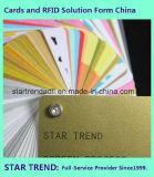 Cartão magnético Cartão de PVC Cr80 Color Card
