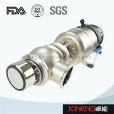 Variação do fluxo de aço inoxidável válvula pneumática (JO-VDF1002)