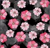 Хлопко-бумажная ткань 100% печатание цифров цветка качества Hight изготовленный на заказ Zzc-002