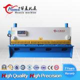 Máquina de corte hidráulica do cortador do metal do melhor projeto da guilhotina do Nc do preço