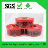Metro de PVC/PE/Cable de cinta de advertencia de barricada detectables de marcador de cinta