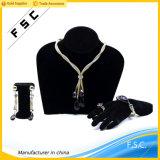 高品質の卸し売り紫色のダイヤモンドの金の宝石類は女性のためにセットした