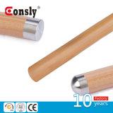 Tipo rotondo coperchio della protezione dell'estremità del tubo del corrimano di Wood&PVC dell'acciaio inossidabile di estremità