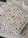Regalo Jounral Impresión del cuaderno con el abrigo de regalo de la cinta