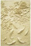 Grès découpant des tuiles de mur de statue de Relievo pour la décoration à la maison