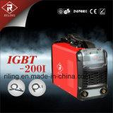 Máquina de soldadura MMA IGBT con el caso plástico (IGBT-160I / 200I)