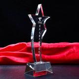 Trofeo cristalino de la alta calidad de la dimensión de una variable K9 del diamante para el recuerdo