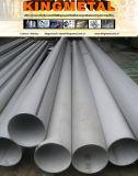 Tubo saldato Od141.3mm dell'acciaio inossidabile di A249 TP304L per lo scambiatore di calore