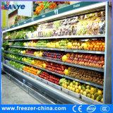 dispositivo di raffreddamento aperto della visualizzazione di 12FT 110V/60Hz Multideck per le verdure e le frutta