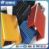 Sgs-Revisions-Fabrik-Aluminiumkühlkörper-Schwarz-Farbe zum Indstry Zweck