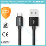 1m/2m/3m/5m de la charge rapide de données Câble micro USB pour iPhone/Samsung